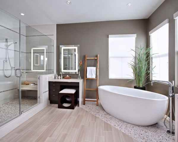 Moderno prenovljena kopalnica